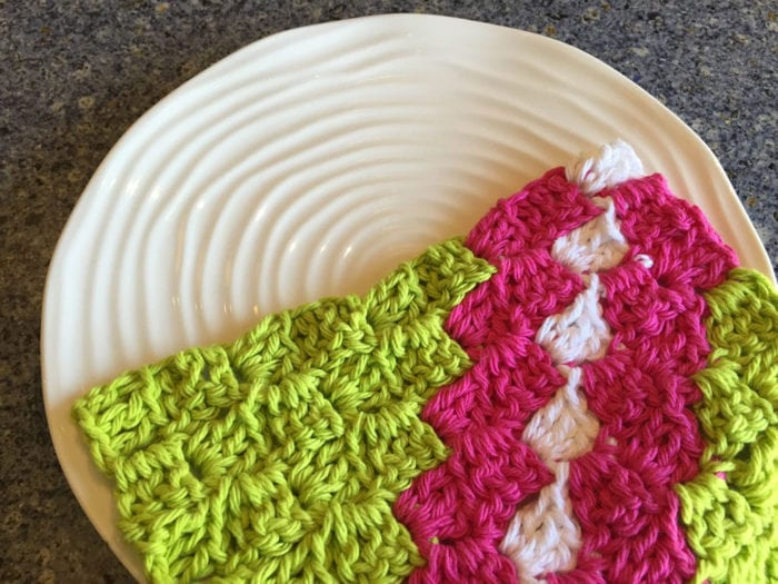 Lily Sugar'n Cream Cotton Yarn Experiment