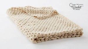 Crochet Big Granny Square Blanket