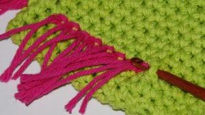 Dusting Mitt crocheted by Jeanne Steinhilber