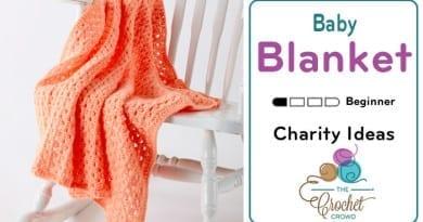 Crochet Easy Peasy Baby Blanket