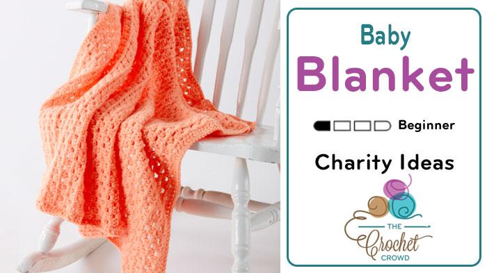 One skein baby blanket crochet crowd