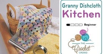 Crochet Granny Dishcloth Pattern