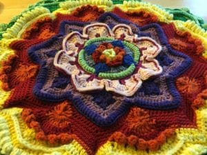 15 Crochet Mandalas Patterns The Crochet Crowd