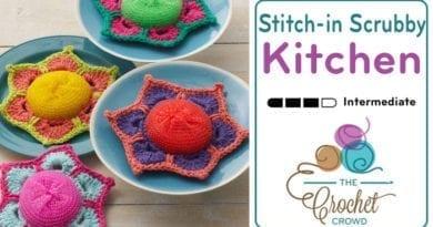 Crochet Posey Scrubby