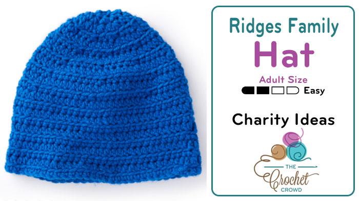 Crochet Adult Hat Pattern
