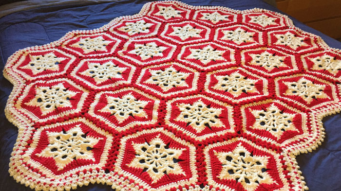 Crochet Snowflakes Archives | The Crochet Crowd