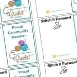 Stitch it Forward Downloadable & Printable Cards