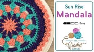 Crochet Sun Rise Mandala