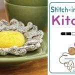 Crochet Sunshine Scrubby + Tutorial
