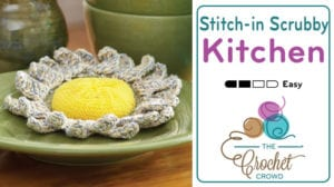 Crochet Sunshine Scrubby Pattern