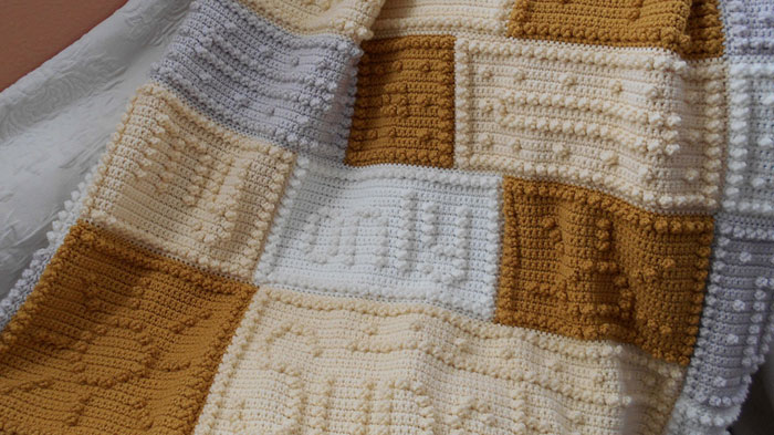 You Are My Sunshine Crochet Afghan Pattern