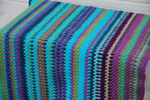 Crochet Patterns For Temperature Blanket : Temperature Blanket - First 3 Months - The Crochet Crowd