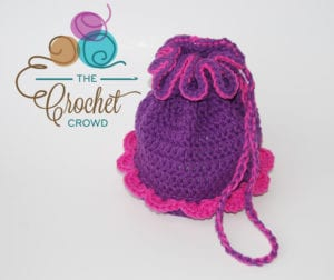 Crocheted Ballerina Bag by Jeanne Steinhilber