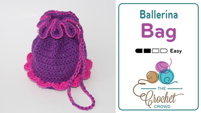 Crocheted Ballerina Bag