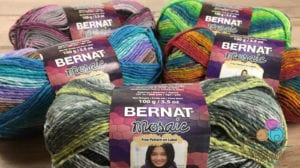 BernaBernat Mosaic Yarn by Yarnspirations Pattern
