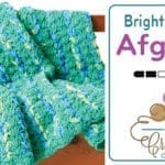 Crochet Bright & Easy Blanket + Tutorial