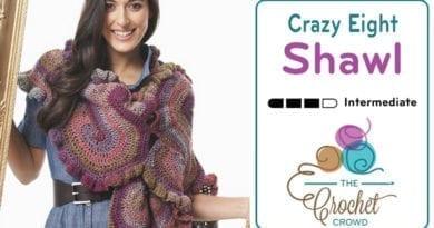 Crochet Crazy Eight Shawl