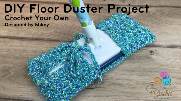 Crochet Reusable Mop Pattern