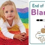 Crochet End of The Rainbow Blanket + Tutorial