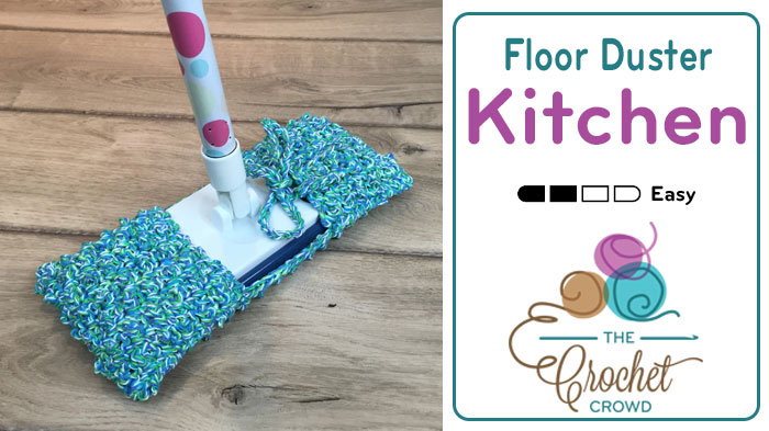 Crochet Floor Mop Duster Pattern
