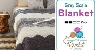 Crochet Grey Scale Blanket