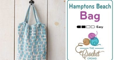 Crochet Hamptons Beach Bag