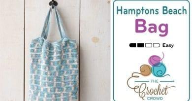 Crochet Hamptons Beach Bag