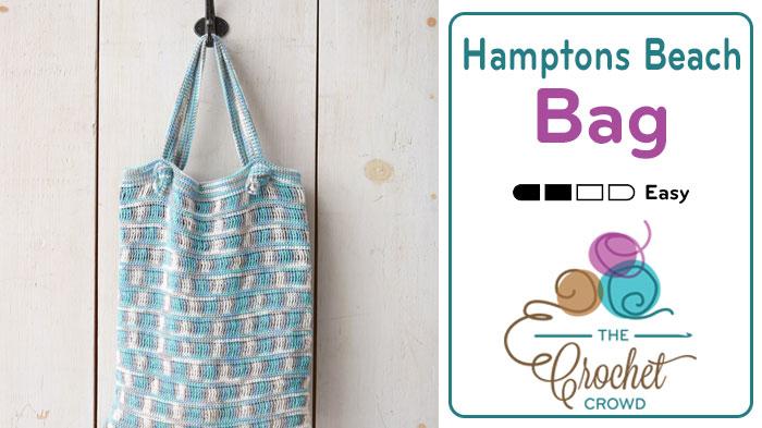 Crochet Hamptons Beach Bag Pattern