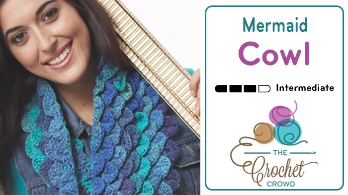 Crochet Mermaid Cowl Pattern