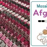 Crochet Mosaic Tile Afghan Pattern