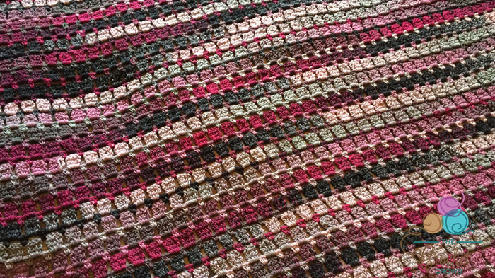 Bernat Mosaic Tile Afghan Pattern