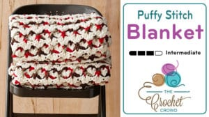 Crochet Puffy Stitch Blanket