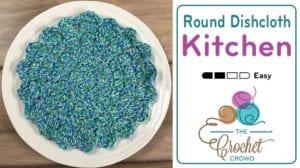 Crochet Round Dishcloth Pattern