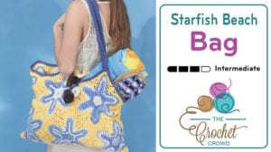 Crochet Starfish Bag