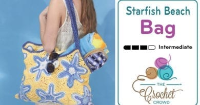 Crochet Starfish Bag