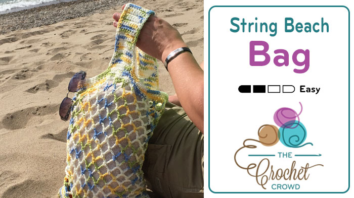 Crochet String Beach Bag