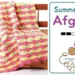 Crochet Summer Waves Blanket + Tutorial
