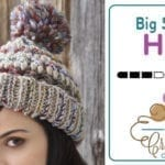 Crochet Big Stitch Hat + Tutorial