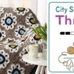 Crochet City Solarium Throw + Tutorial