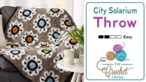 Crochet City Solarium Throw