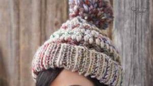 Crochet Big Stitch Hat