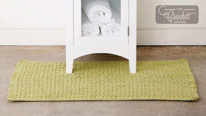 Crochet Bubble Bath Mat