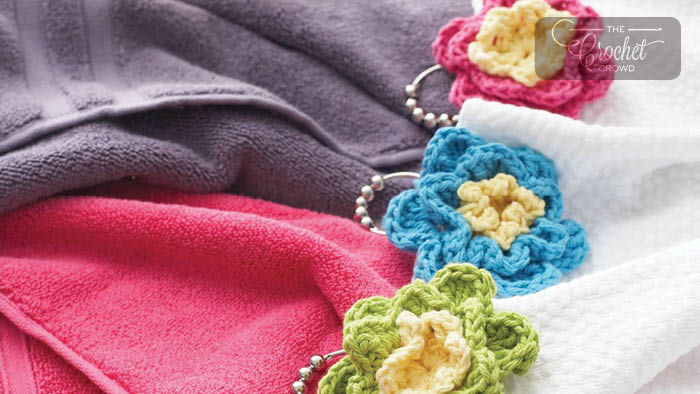 Crochet Shower Flowers Pattern + Tutorial