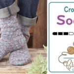 How to Crochet Socks for Beginners + Tutorial