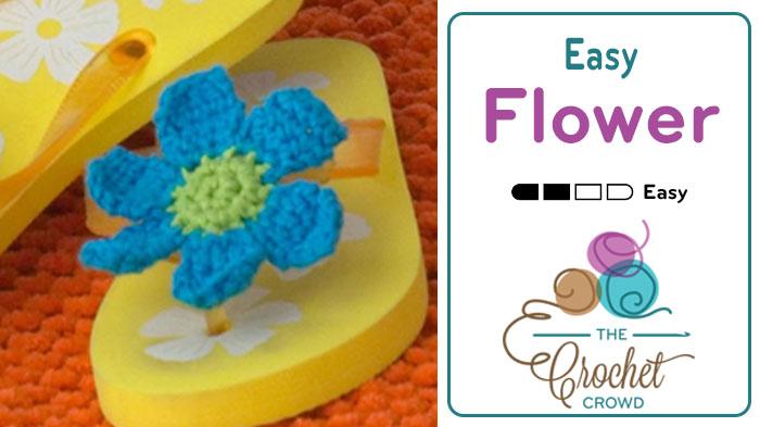 Crochet Easy Flower Pattern