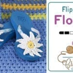 Crochet Flower Flip Flops + Tutorial