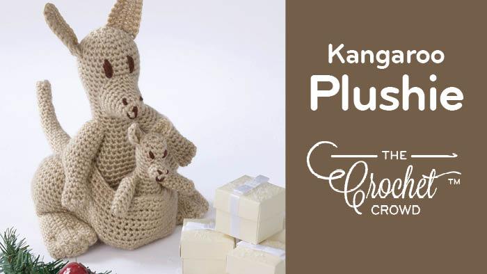 Crochet Kangaroo Plushie
