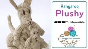 crochet kangaroo | Crochet patterns, Crochet toys patterns ... | 168x300