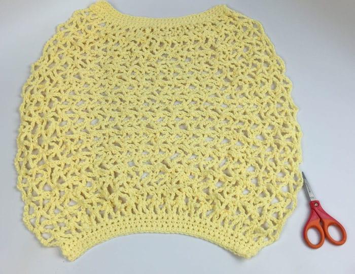 Crochet Market Bag Overview