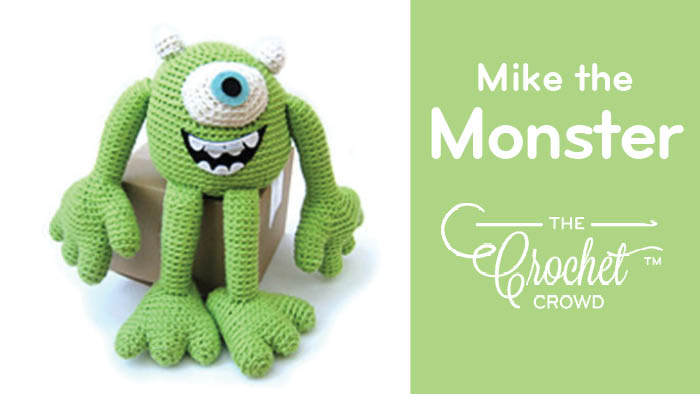 Crochet Mike The Monster Toy